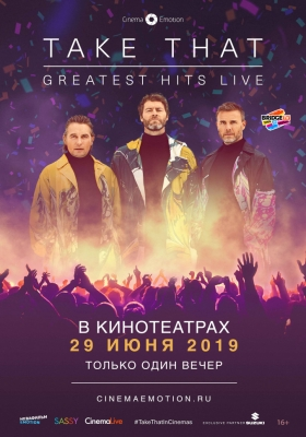 фильм Take That: Greatest Hits Live